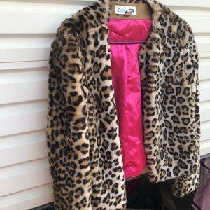 Forever 21 cheetah fur